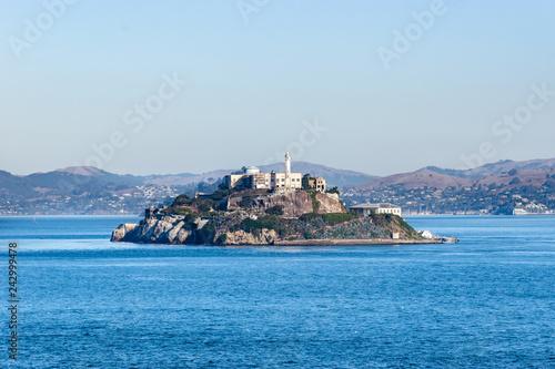 Fotografie, Tablou  Prison island of Alcatraz in San Francisco, California