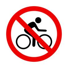Znak Zakazu Dla Rowerów