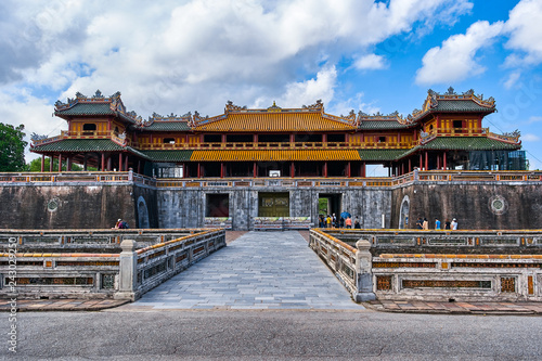 Foto  Imperial City, Unesco World Heritage in Hue, Vietnam