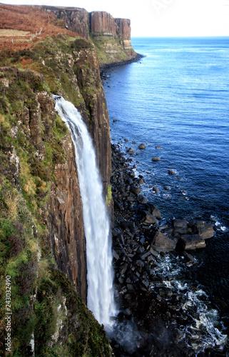 Kilt Rock Waterfall, Isle of Skye Wall mural