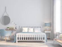White Bedroom Vintage Style Fo...