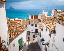 Street Scenes Of Altea Spain