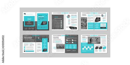 Fotografia, Obraz  Brochure creative design