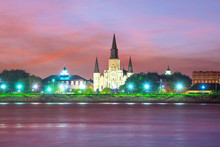 St. Louis Cathedral In The Fre...