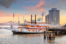 New Orleans Paddle Steamer In ...