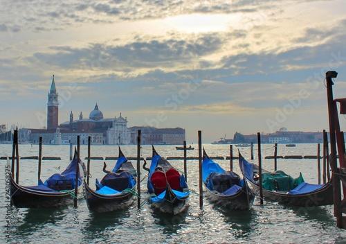 Fotografie, Obraz  Golden Venice