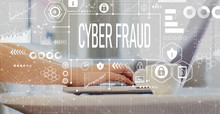 Cyber Fraud With Woman Using A...