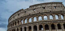 Old And Historic Colosseum In ...