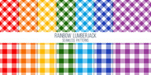 Rainbow Colored Light Lumberja...
