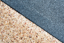 Texture Of The Granite Remnants Finish And Exposed Aggregate Finish Flooring
