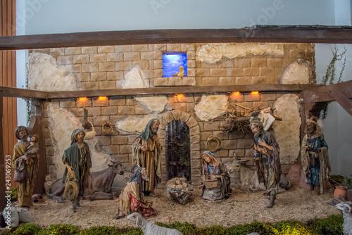 Fotografie, Obraz  Nacimiento 24 diciembre, navidad, reyes magos, pastores, religion, tradiciones,