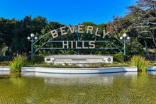 Beverly Hills Sign - Los Angeles, California