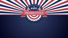 Happy Presiidents Day Banner B...