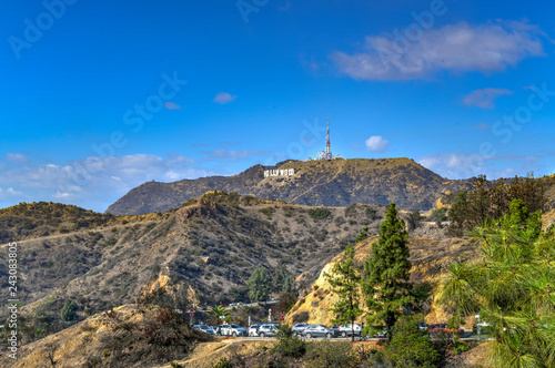 Photo  Hollywood Sign - Los Angeles, California