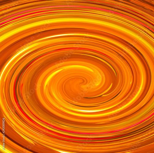 Fotografering  tourbillon doré abstrait