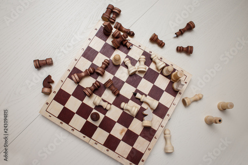 Fotografie, Obraz  chess on the table