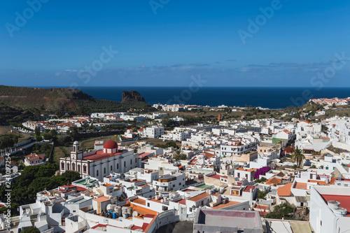 Poster Canary islands gran canaria winter 2018 2019