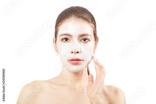 Fotografie, Obraz  woman applying cream