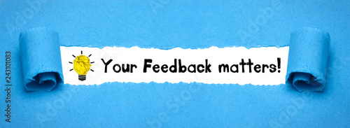 Photo Your Feedback matters!