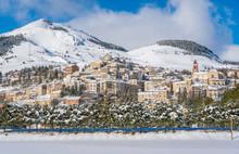 Rivisondoli Covered In Snow Du...