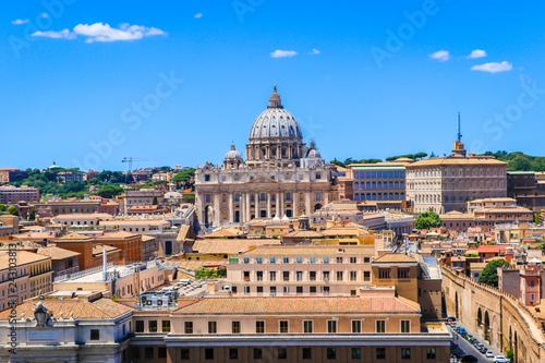 Slika na platnu Vatican St. Peter's Basilica of the Vatican city State, Italy