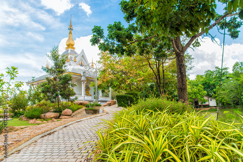 Photographie  Wat Thung Setthi temple(Wat Thung Mueang) at Khon Kaen is a tourist attraction,Thailand