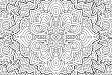 Beautiful Coloring Book Page W...