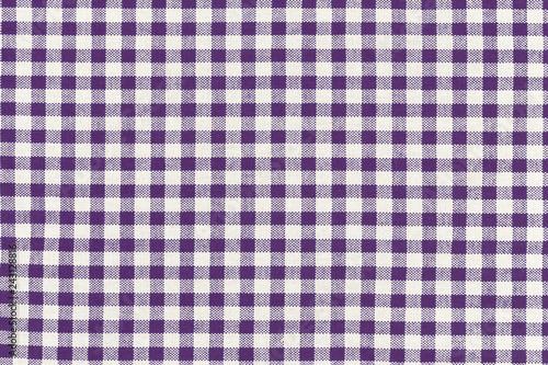 Fototapeta motif carreaux bleus tissu Vichy
