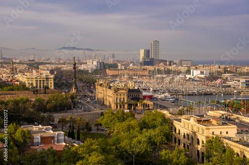 Photo sur Aluminium Seoul Mirador de Colom, Barcelona