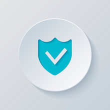 Protection Success. Simple Ico...
