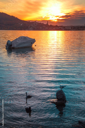 Fototapeta premium Zachód słońca