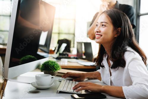 Fototapeta Business meeting and teamwork Concept. obraz na płótnie