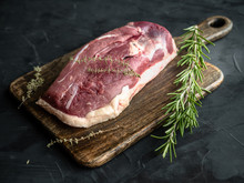 Raw Uncooked Duck Breast With ...
