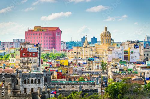 Recess Fitting Havana Havana, Cuba downtown skyline.