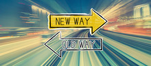 Old Way Or New Way With Abstra...