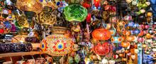 Beautiful Lamps In Grand Bazaa...