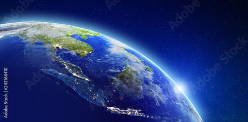 South-east Asia - Indonesia, Malaysia, Singapore and Thailand