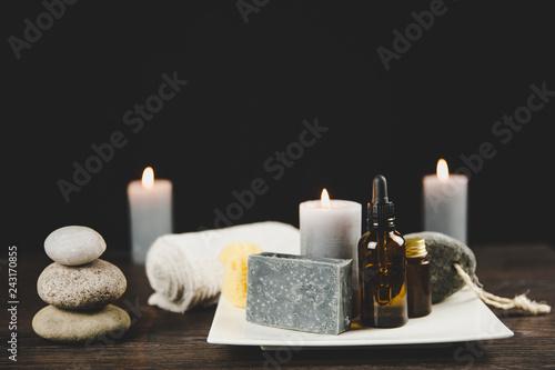 Fotografie, Obraz  Men`s spa relaxation concept