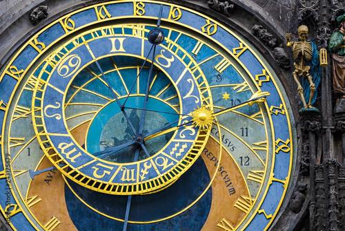 Aluminium Prints Prague Astronomical Clock in Prague, Czech Republic
