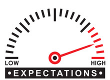 High Expectations - Monitoring  Scale -   Illustration Template