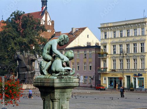 Obraz Bydgoszcz, Stary Rynek - fototapety do salonu