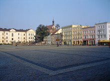 Bydgoszcz, Poland - June, 2008: Old Market Square