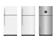 Closed Refrigerators - Vector ...