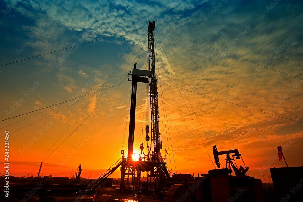 Fototapety, obrazy: The oil rig