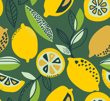 Vector Seamless Pattern With Y...