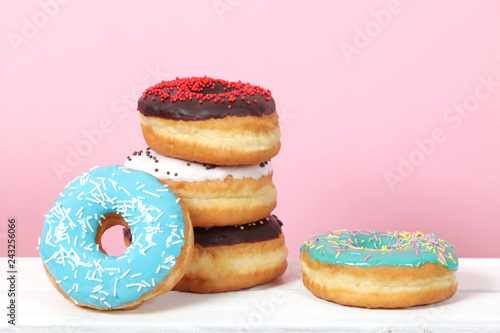 Best Baked Doughnuts with frosting
