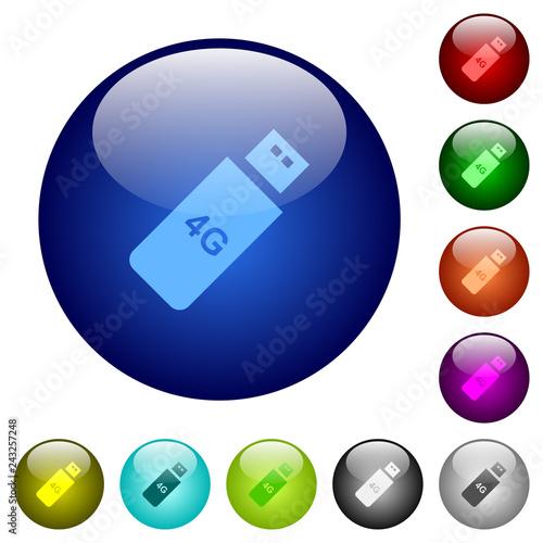 Fotografía  Fourth generation mobile stick color glass buttons