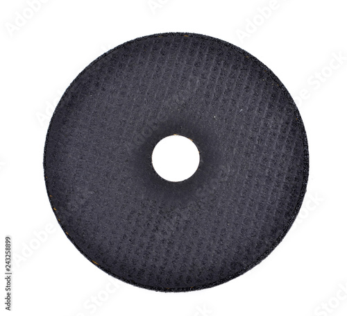 Fotografie, Tablou cutting discs for angle grinder isolated on white background