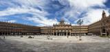 Panorámica de la plaza mayor de Salamanca