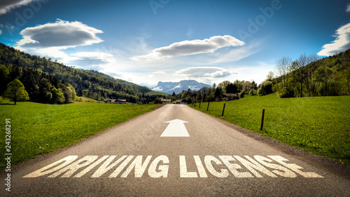 Sign 401 - DRIVING LICENSE